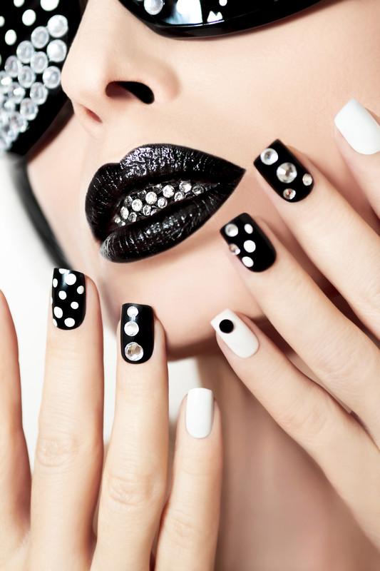black lipstickckc